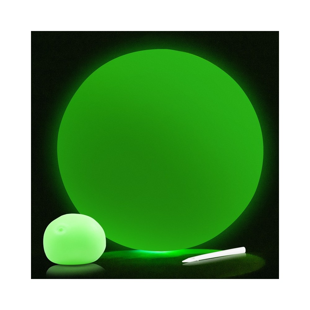 how to make glow in the dark balloons