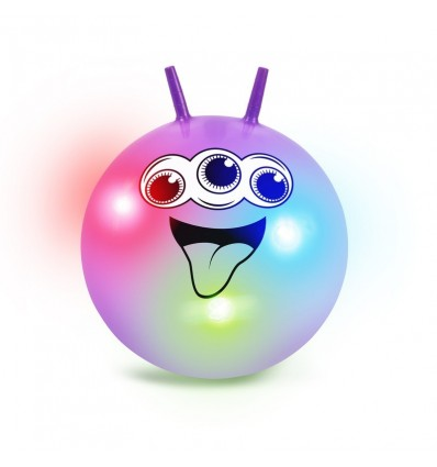 Świecąca piłka do skakania - Space Hopper