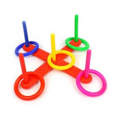 Plastikowe QUOITS –  gra w pierścienie 40cm