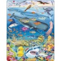 Puzzle zwierzęta morskie 66 elementów 36cm