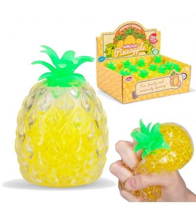 Ananas Gniotek z kuleczkami 11cm