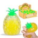Ananas Gniotek z kuleczkami 11cm Jellyball Pineapple