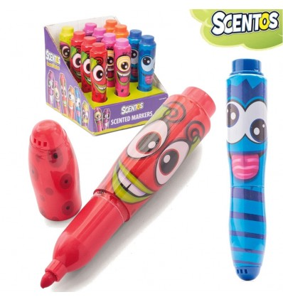 Scentos Funny Face Markers