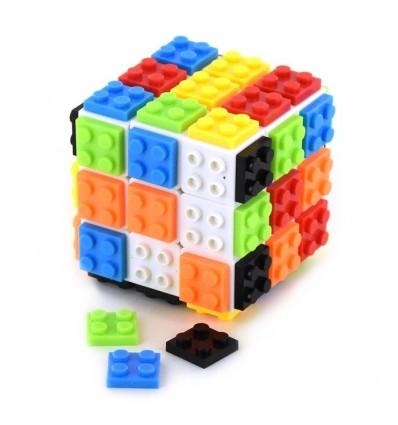 Kostka z klockami 3x3x3 54+1el. 6cm