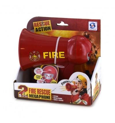 Megafon straży pożarnej 16x14cm