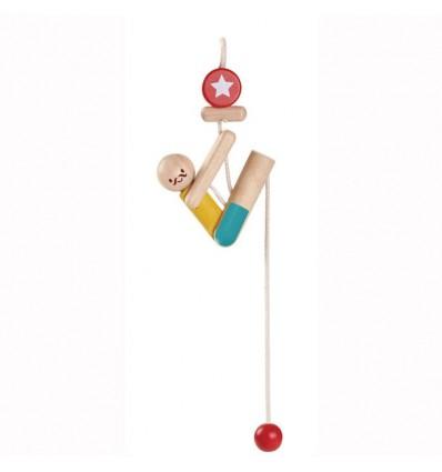 Drewniany akrobata - wspinaczka, Plan Toys