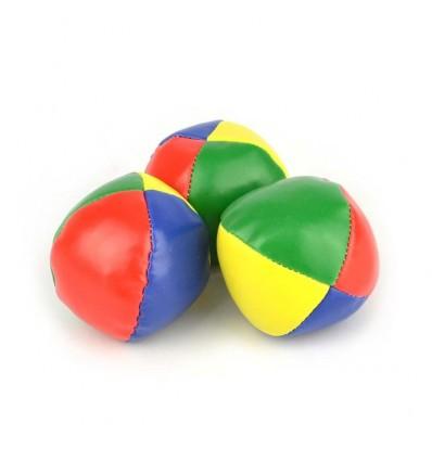 Piłeczki do żonglowania 3szt, 7cm