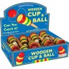 Drewniana zabawka z kulką - Cup And Ball