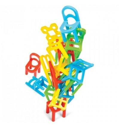 Spadające Krzesła - Chair Stack