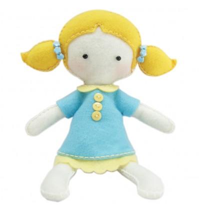 Twoja laleczka - Felt Craft Doll