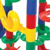 Tor dla Kulek 74 elementów - Building Blocks Marble Race Game 74 Pcs