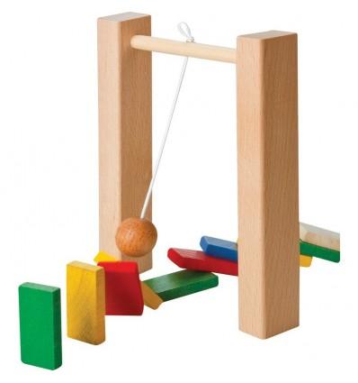 Drewniane domino konstrukcyjne
