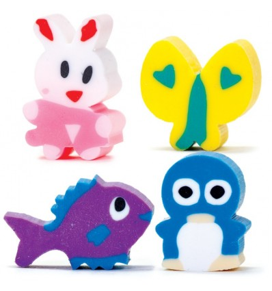 Mini Animal Erasers