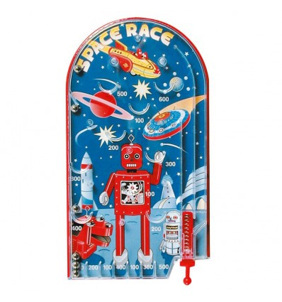 Space Race Pin Ball Game