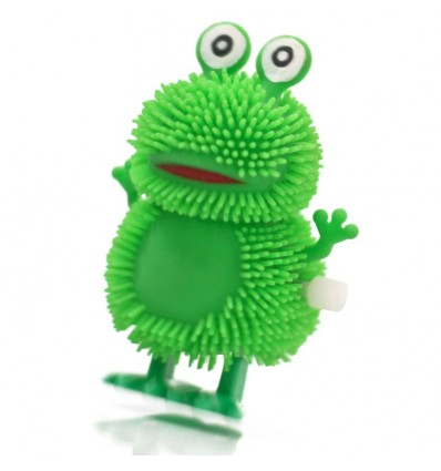 Clockwork Fuzzy Hopping Frog