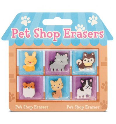 Pet Shop Erasers