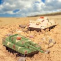 Kampania czołgisty zdalnie sterowana, + BATERIE