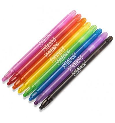 Scentos Twistable Crayons 8Pk