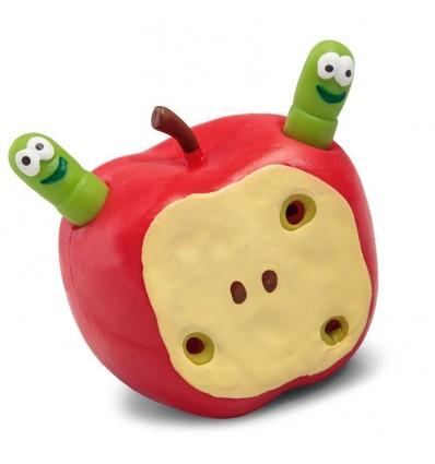 W jabłku robaczek - rozciągliwe