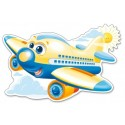 Wesoły samolot – Puzzle Konturowe