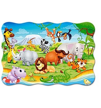 Zwierzęta z Afryki – Puzzle
