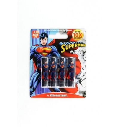 SuperMan – Baterie Alkaliczne Paluszki AA – 4szt