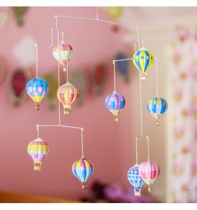Blaszane balony na gorące powietrze
