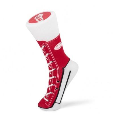 Czerwone Skarpetki Trampki Sneaker – rozmiar 37-45