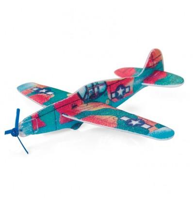 Składany samolocik ze śmigiełkiem