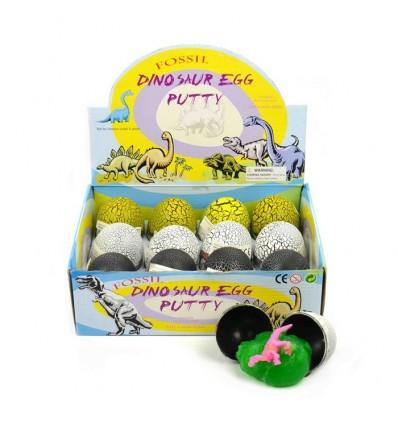 Jajko z dinozaurem i glutem 1z3 do wyboru, 8cm