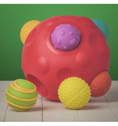 Piłka sensoryczna 1+, 22cm