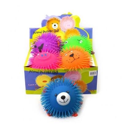 Piłka z włosami – Zwierzęta - 1z6 wzorów, 23cm
