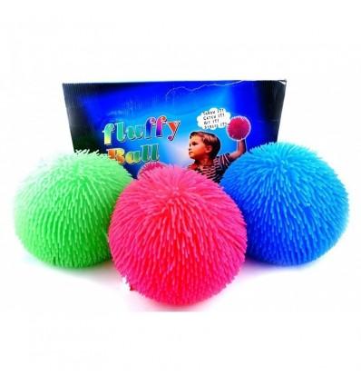 Piłka z włosami 1z3 wzorów, 27cm